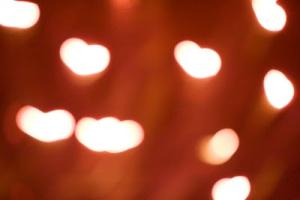 Heart shaped lights